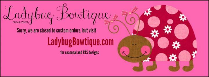 Ladybug Bowtique cover