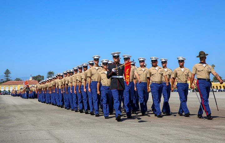 Marine Corps Recruit Depot San Diego cover