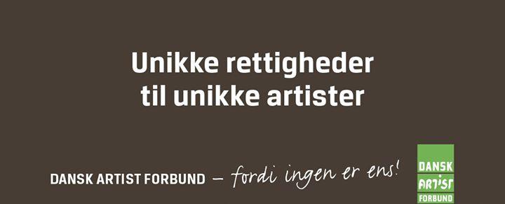 Dansk Artist Forbund cover