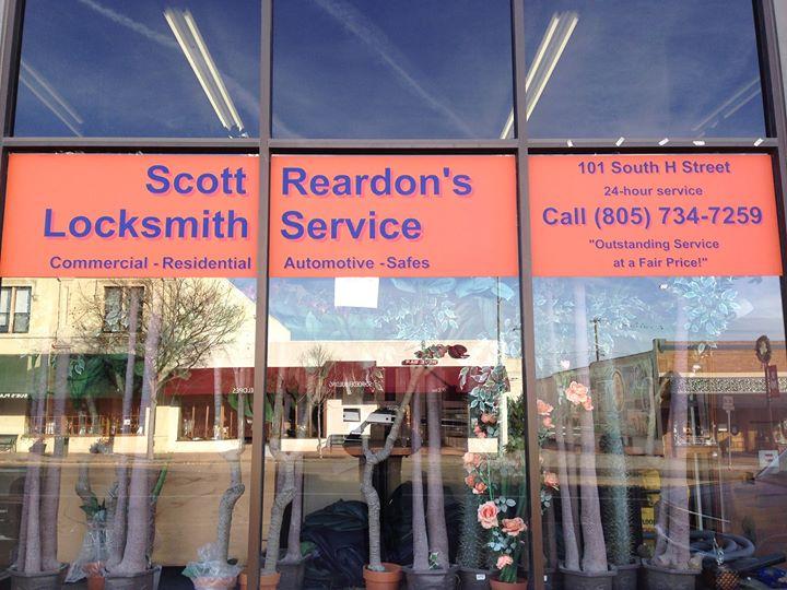 Scott Reardon's Locksmith Service cover