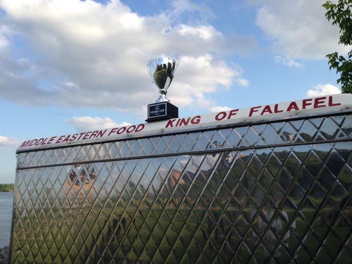King of Falafel cover