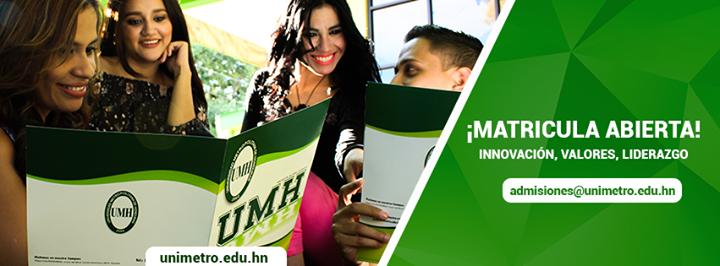UMH - Universidad Metropolitana de Honduras cover