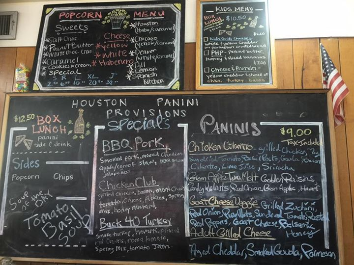 Houston Panini & Provisions cover