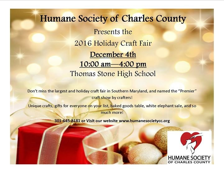 The Humane Society of Charles County cover