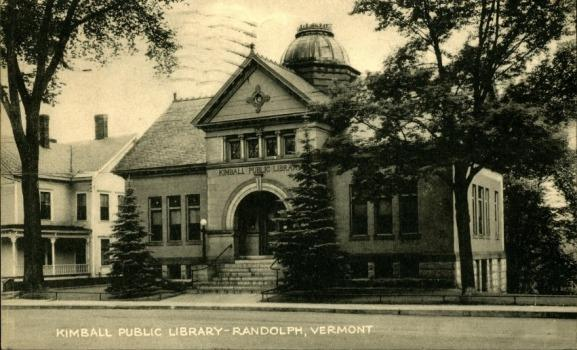 Kimball Public Library cover