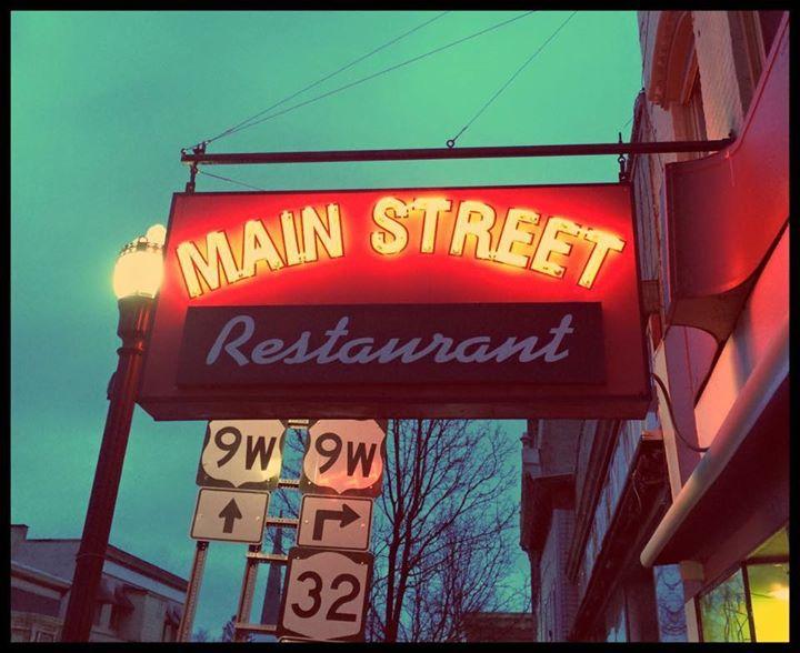 MAIN STREET RESTAURANT cover