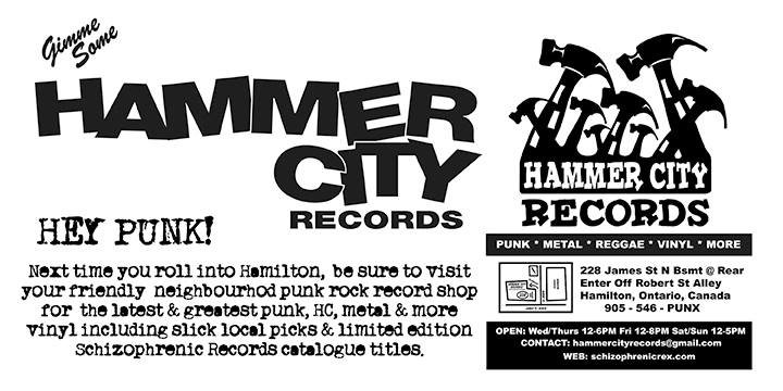 Hammer City Records cover