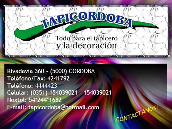 TAPICORDOBA cover