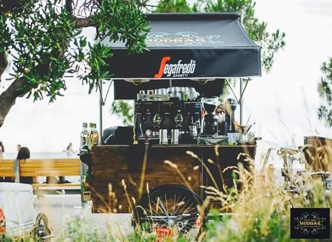 Modbar street coffee bike cover