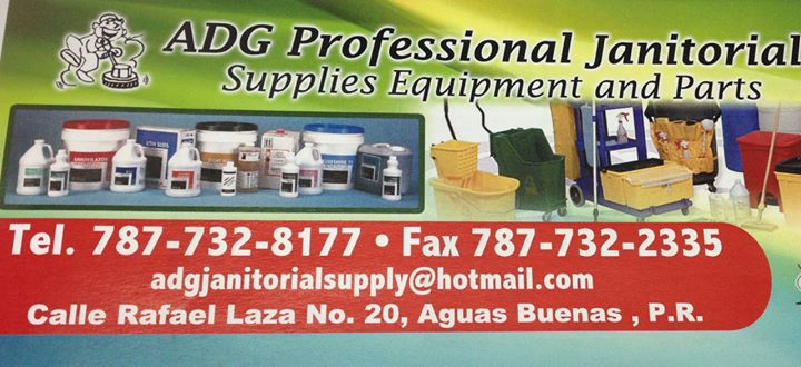ADG Professional Janitorial Supplies cover