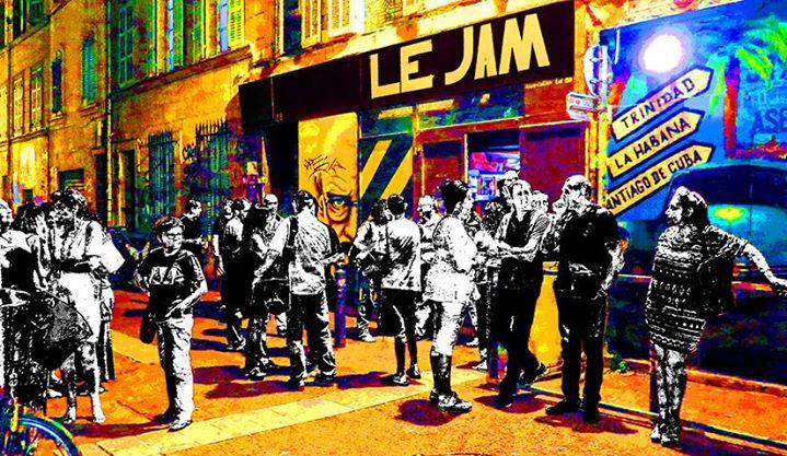Le JAM Marseille cover