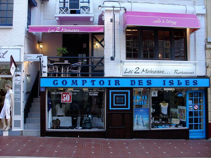 Restaurant Les 2 Moineaux Le Touquet cover