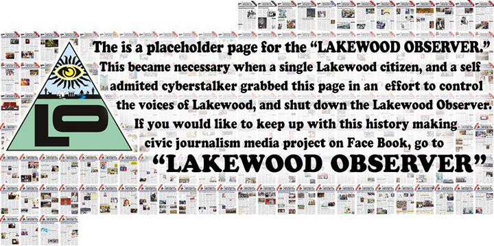 The Lakewood Observer cover