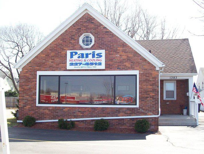 Paris Heating & Cooling cover