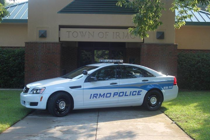 Irmo Police Department cover