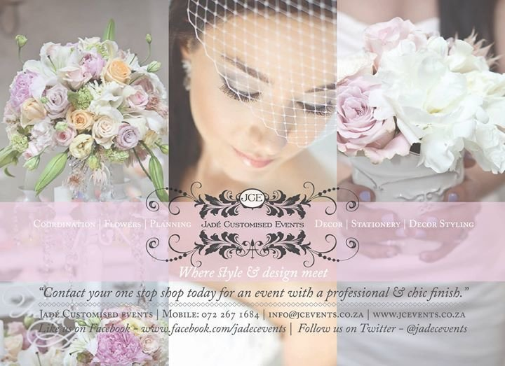 Jade' Customised Events cover