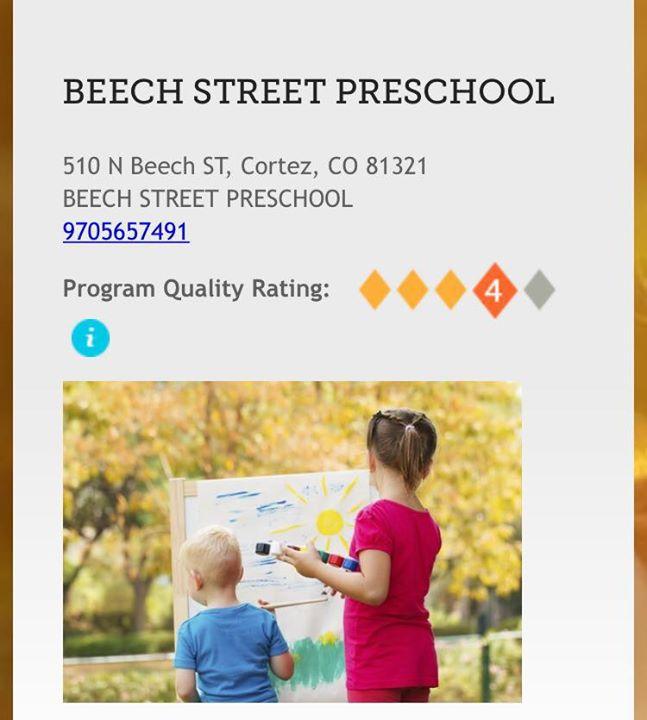 Beech Street Preschool cover