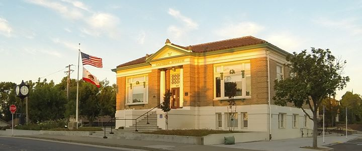 The Roseville Historical Society at the Carnegie Museum, Roseville CA cover