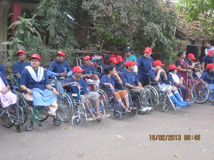 Paraplegic foundation cover