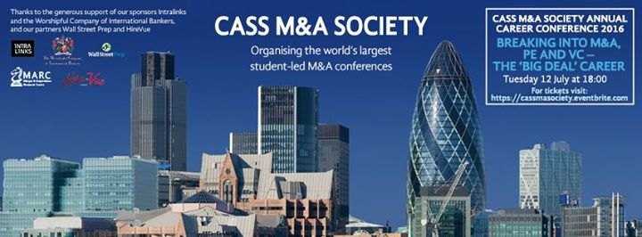 Cass M&A and PE Society cover