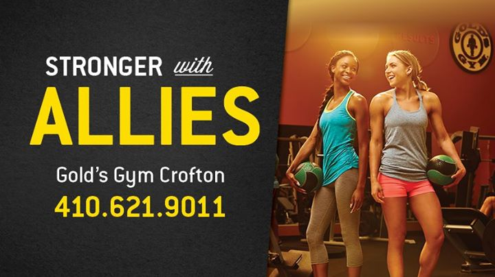 Gold's Gym Crofton cover
