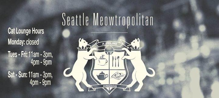 Seattle Meowtropolitan cover