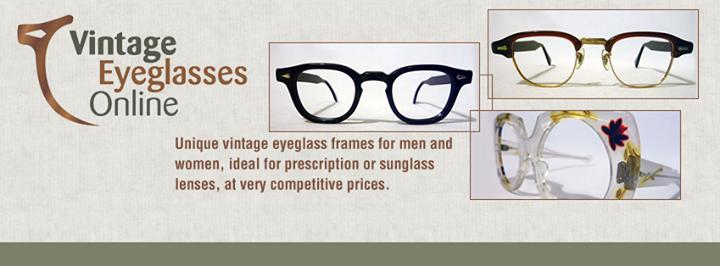Vintage Eyeglasses Online cover