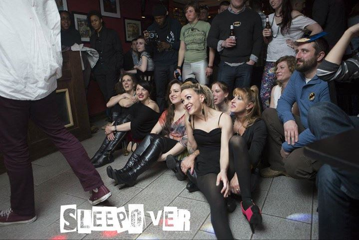 Sleepover. The Party cover