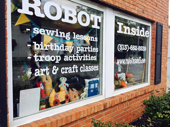 Robot Inside Crafting Company cover