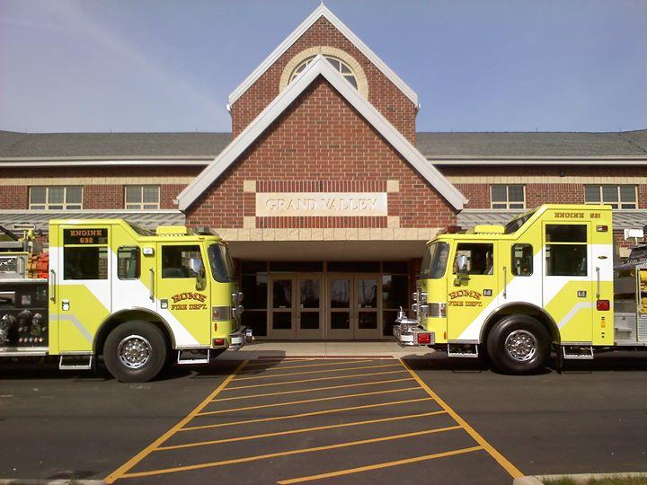 Rome Fire Department, Ashtabula County Ohio cover