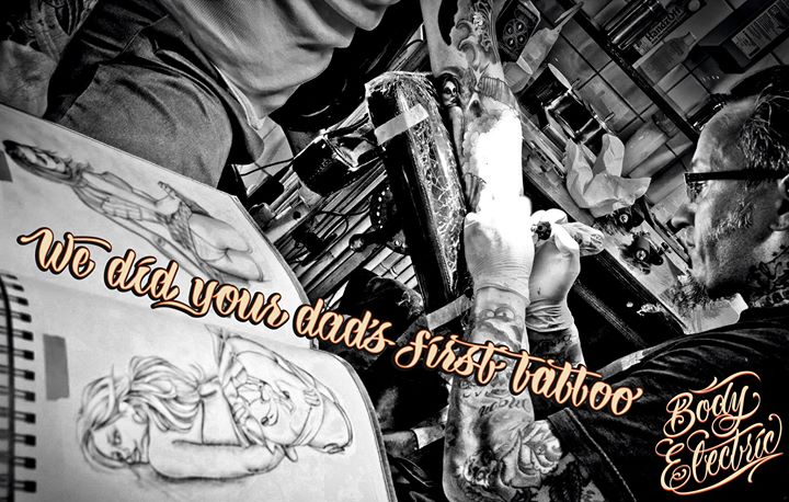 Andy´s Body Electric Tattoo Studio cover