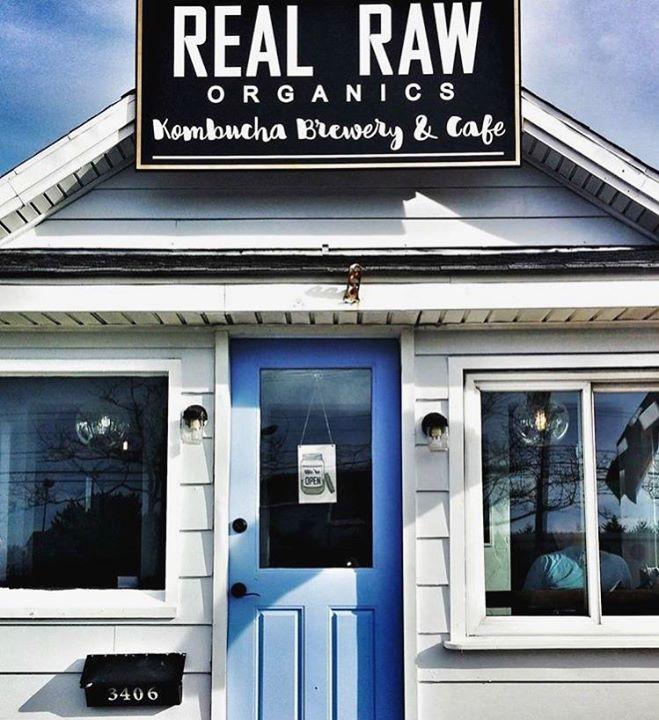 Real Raw Organics Kombucha Brewery & Café cover