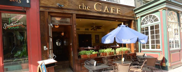 The Cafe cover