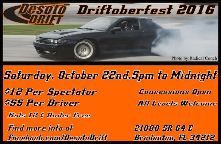 Desoto Drift cover
