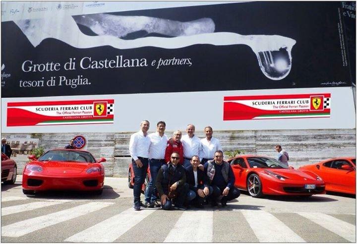 Scuderia Ferrari Club Castellana Grotte cover