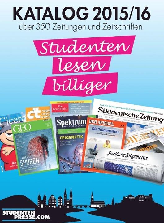 STUDENTEN-PRESSE cover