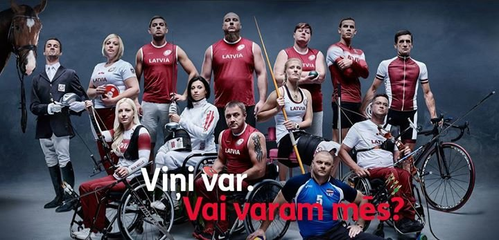 Latvijas Paralimpiskā komiteja cover