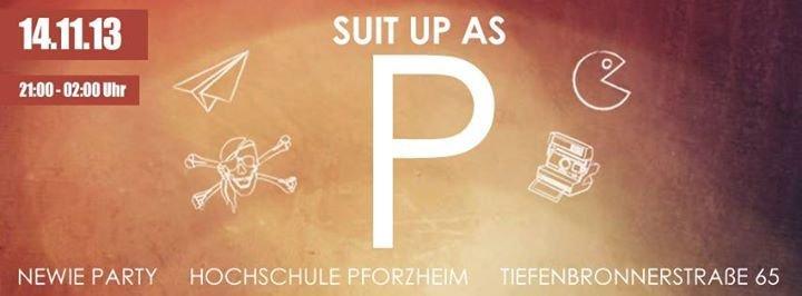 HS Pforzheim Newies WS 2013/14 cover