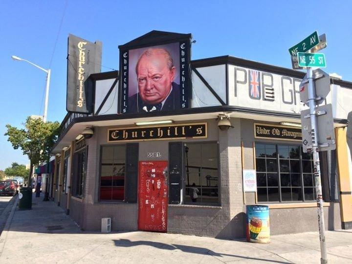 Churchill's Pub cover