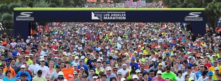 Los Angeles Marathon cover