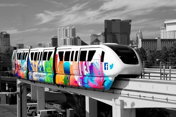 Las Vegas Monorail cover
