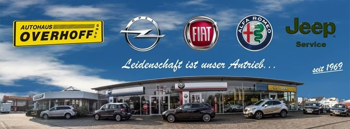 Autohaus G. Overhoff GmbH - Alfa Romeo Fiat Opel Jeep cover