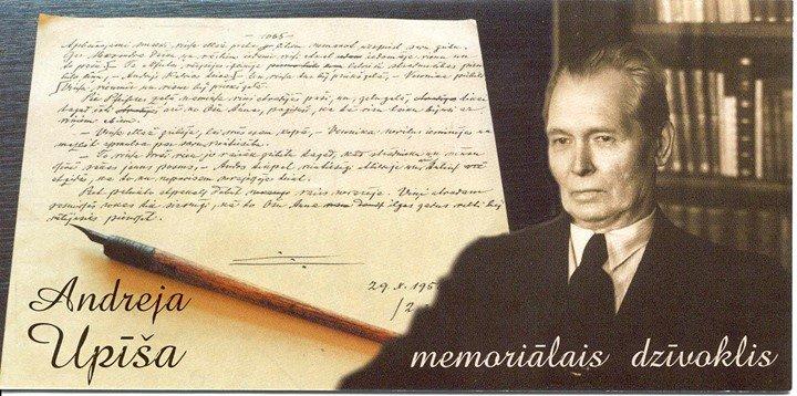 Andreja Upīša memoriālais muzejs cover