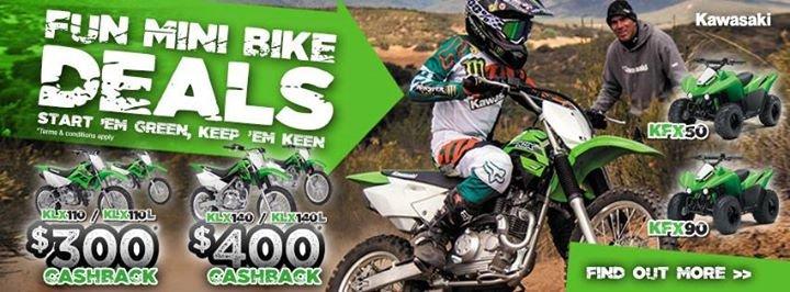 Kawasaki Motors Australia cover