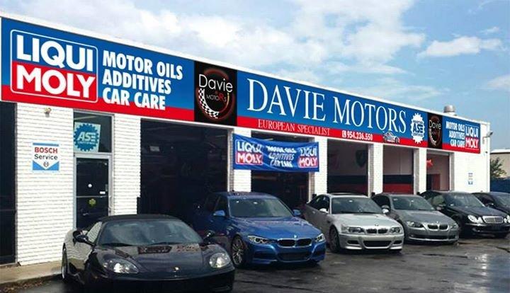 Davie Motors European  Specialist cover