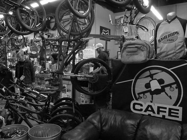 Bicycle Cafe Kamloops cover