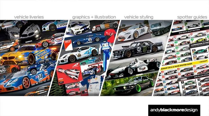 Andy Blackmore Design & Spotter Guides cover