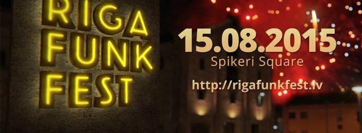 Riga Funk Fest cover
