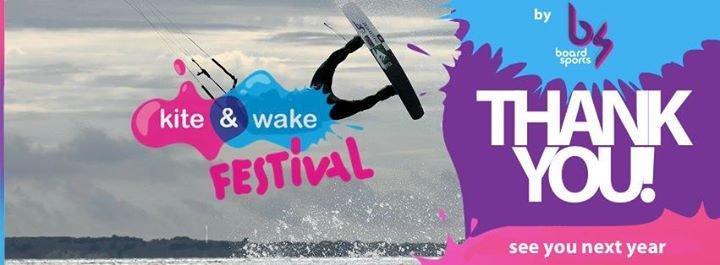 Kite & Wake Festival cover