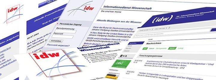 Informationsdienst Wissenschaft - idw cover